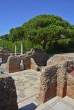 Ostia Antica ruiny Fotografia Royalty Free