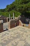 Ostia Antica ruiny Zdjęcia Royalty Free