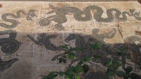Ostia Antica, Rzym antyczny schronienie - Zdjęcia Stock