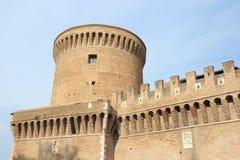 Ostia Antica slott, Italien Royaltyfria Foton