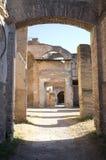 Ostia Antica w Rzym Zdjęcia Stock