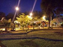 Ostimuri Park. There's in Obregon city, Sonora, Mexico Royalty Free Stock Image