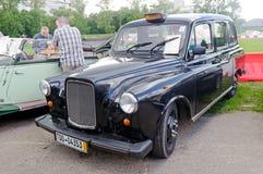 Ostin FX-4葡萄酒出租汽车车的储蓄图象 免版税库存照片