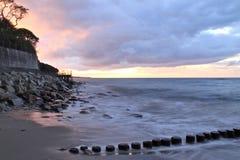 Ostküste lizenzfreies stockbild