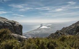 Ostküste von Korsika südlich von Bastia Lizenzfreie Stockbilder