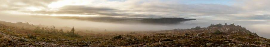 Ostküsten-Spur in Neufundland, Kanada lizenzfreie stockfotos