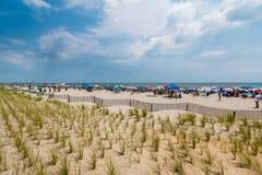 Ostküsten-Strand im Sommer Lizenzfreies Stockbild