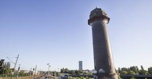 Ostkreutz Германия Берлина водонапорной башни Стоковое Изображение