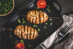 Ostliknande potatisar för tromb Royaltyfri Bild