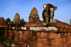 OstMebon, Angkor Lizenzfreies Stockfoto