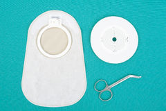 Ostomy supplies Stock Image