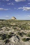 Ostpawnee Butte in nordöstlichem Colorado Lizenzfreie Stockfotos