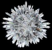 ostra kolumn kryształu sfera Obrazy Royalty Free