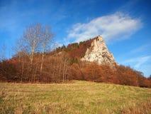 Ostra Skala, Vysnokubinske Skalky, Slovakia Royalty Free Stock Photos