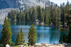 Ostrander Lake. At Yosemite National Park Royalty Free Stock Photos