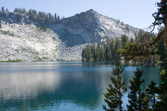 Ostrander Lake. At Yosemite National Park Royalty Free Stock Photography