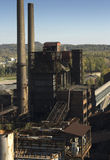 Ostrava. Town with the mining of minerals steel production in the Czech Republic Stock Images