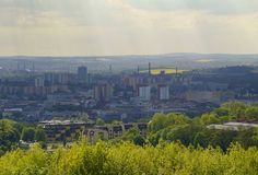 Ostrava bransch Royaltyfri Fotografi