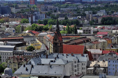 Ostrava city Royalty Free Stock Photo