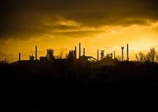 Ostrava Industrial City Stock Photography