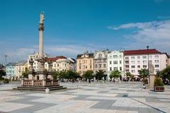 Ostrava Tjeckien royaltyfria foton