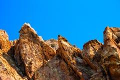 ostre duży skały Obrazy Royalty Free