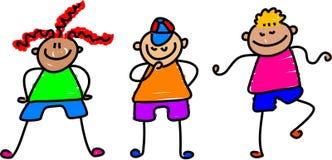 ostre dzieci Obrazy Royalty Free