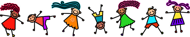 ostre dzieci royalty ilustracja