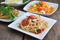 ostre jedzenie thai Zdjęcia Stock