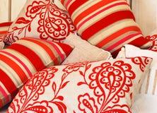 ostre kolor poduszki Zdjęcie Stock