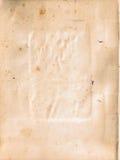 ostre strukturę drzejącą starą papierową Obrazy Royalty Free