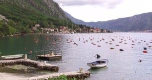 Ostrica che coltiva nel Montenegro video d archivio