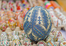 Ostrich easter egg Royalty Free Stock Photo