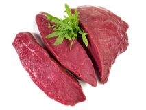 Free Ostrich Meat Steaks - Wild Game Meat Stock Photos - 183431333