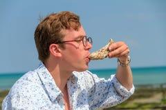 Ostriche di estate Fotografie Stock Libere da Diritti