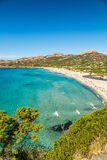 Ostriconi beach in Balagne region of Corsica Stock Photos
