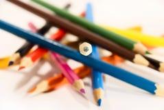 ostrość ołówek Fotografia Royalty Free