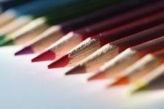 ostrość opuszczać macro ołówka czerwony dobro Zdjęcie Stock