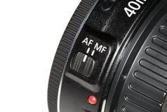 Ostrości zmiana na obiektyw kamerze obrazy royalty free