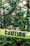 ostrożność fotografia stock