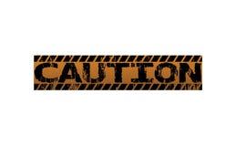 ostrożność ilustracja wektor