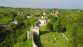 Ostrožac Castle. Is a castle located in Bosnia and Herzegovina in the Una-Sana Canton just outside the town of Cazin, near the village of Ostrožac. The castle Royalty Free Stock Photo