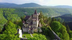 Ostrožac Castle. Is a castle located in Bosnia and Herzegovina in the Una-Sana Canton just outside the town of Cazin, near the village of Ostrožac. The castle Stock Images