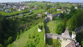 Ostrožac Castle. Is a castle located in Bosnia and Herzegovina in the Una-Sana Canton just outside the town of Cazin, near the village of Ostrožac. The castle Royalty Free Stock Photography