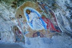 Ostrog kloster Royaltyfri Fotografi