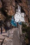 Ostrog monaster Zdjęcia Stock