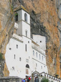 Ostrog monastery Royalty Free Stock Photos