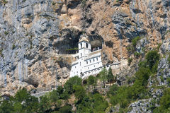 Ostrog Monastery Royalty Free Stock Photography