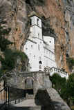 Ostrog Monastery. Orthodox Monastery of Ostrog, Montenegro royalty free stock photography