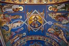 Ostrog-ortodox Kloster montenegro stockbilder